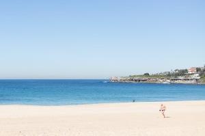 Coogee beach running